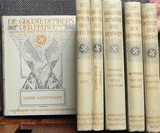 De groote denkers der eeuwen.Alg.bibliotheek v. Wijsbegeerte