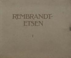 Rembrandt etsen ,in drie portefeuilles.
