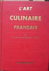 L'art culinaire français.