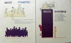 Dichtertje en Titaantjes.(2 boekjes).