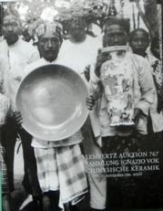 Sammlung Ignazio Vok. Chinesische Keramik. Chinese Ceramics.