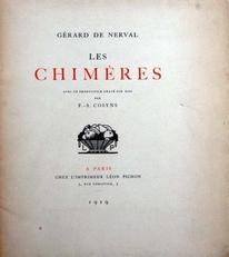 Les Chimeres,1919